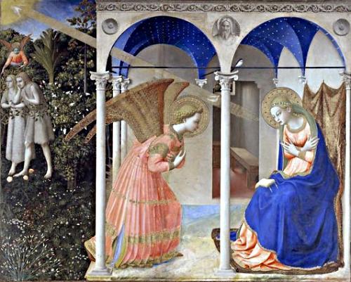 Fra Angelico: Bebudelsen