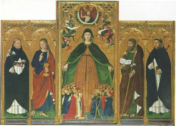 Ludovico Brea: Madonna della Misericordia
